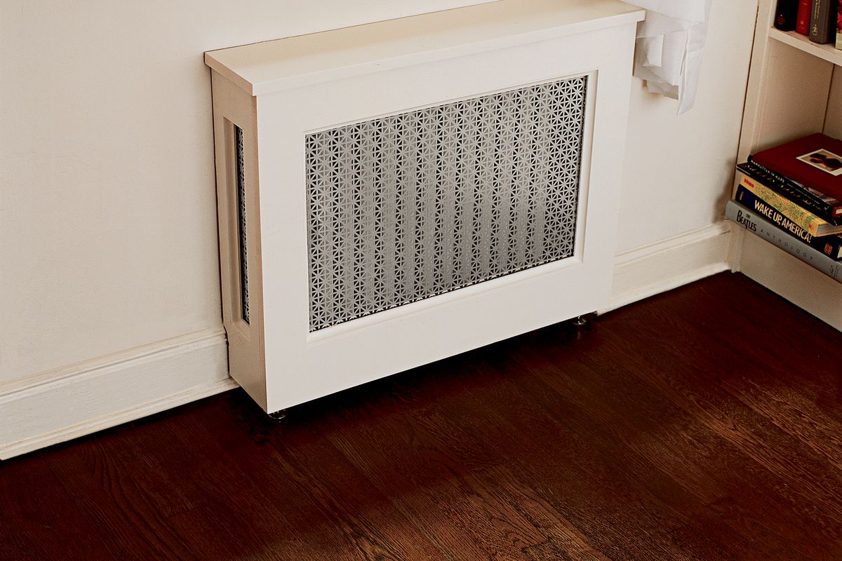 How To Build A Radiator Cover Cabinet This Old House