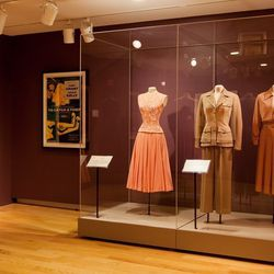 The exhibition features several iconic costumes Grace Kelly wore in Hollywood films, such as <em>To Catch a Thief</em>, <em>Mogambo</em>, <em>The Swan</em>, <em>and High Society</em>. [Image credit: Natalie Wi]