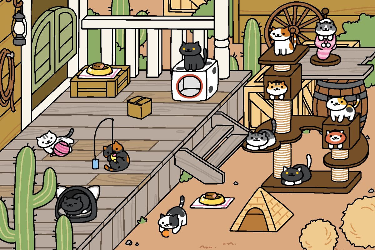 pok mon go fans have you checked on your neko atsume cats lately the verge. Black Bedroom Furniture Sets. Home Design Ideas