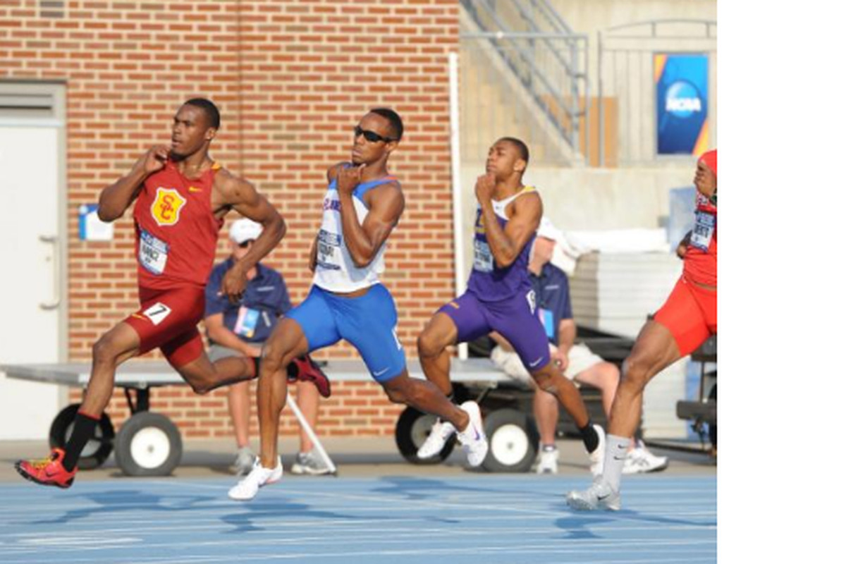 """Tony McQuay ran a personal best in route to a spot in the finals on Friday. (via <a href=""""https://twitter.com/GZTrackField/status/210569264401367040"""" target=""""new"""">GZTrackField</a>)"""