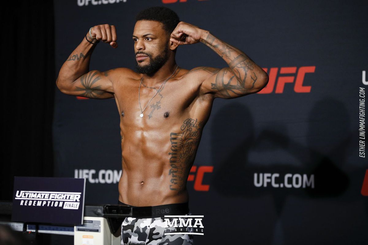 ufc moncton weigh in results michael johnson misses weight mma