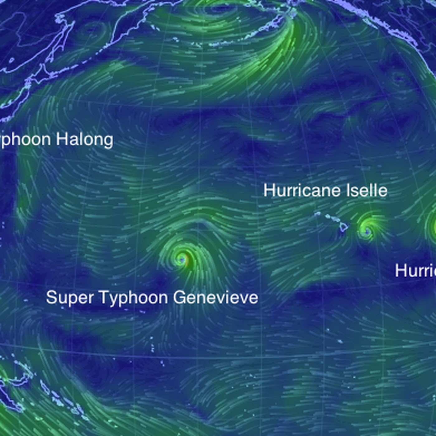 There are 4 hurricane-strength storms in the Pacific right now - Vox