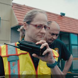 "Jan Rader in the Oscar-nominated documentary short ""Heroin(e)."""