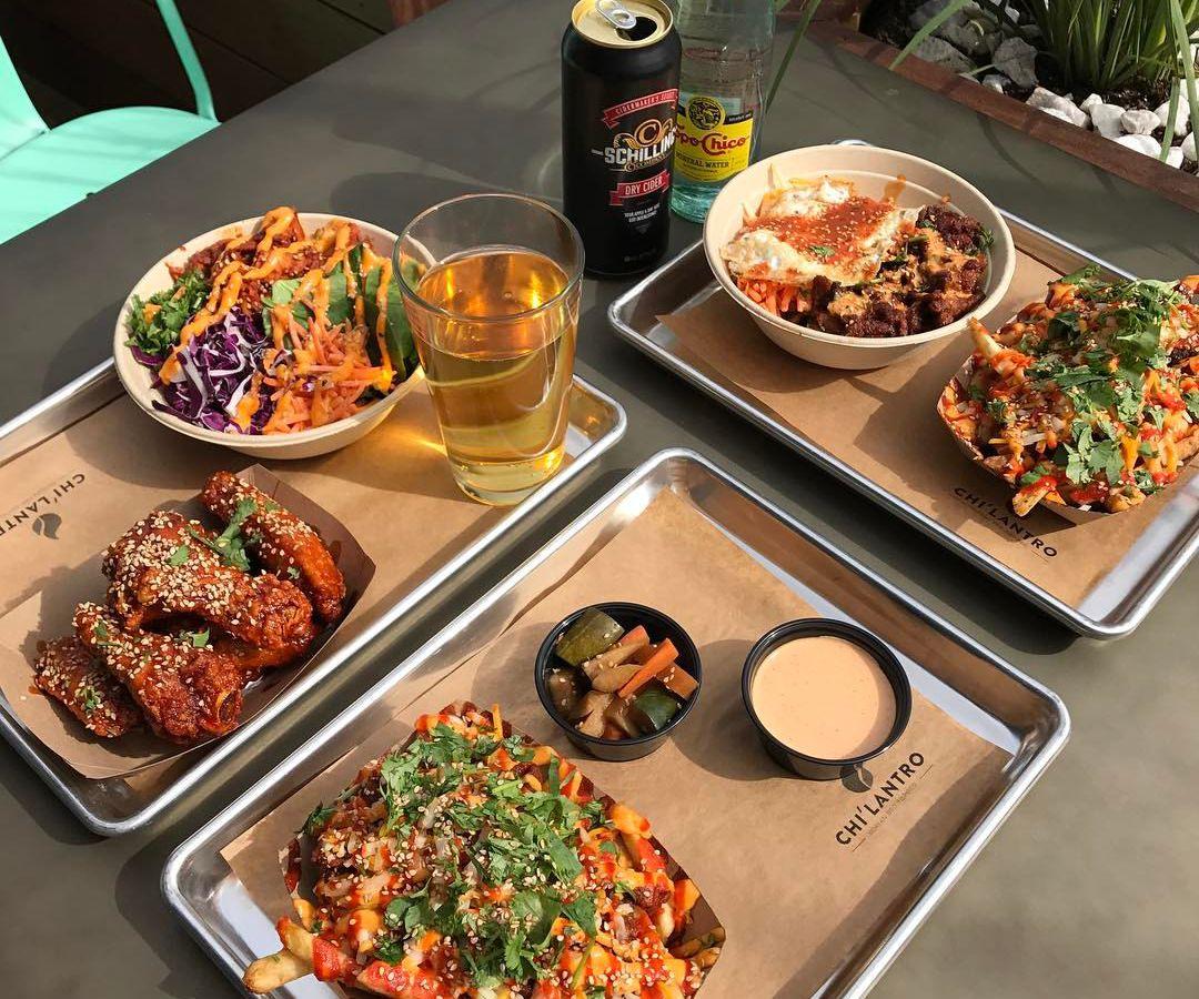 Korean fusion dishes from Chi'lantro