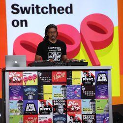 Switched on Pop and DJ Burt Blackarach