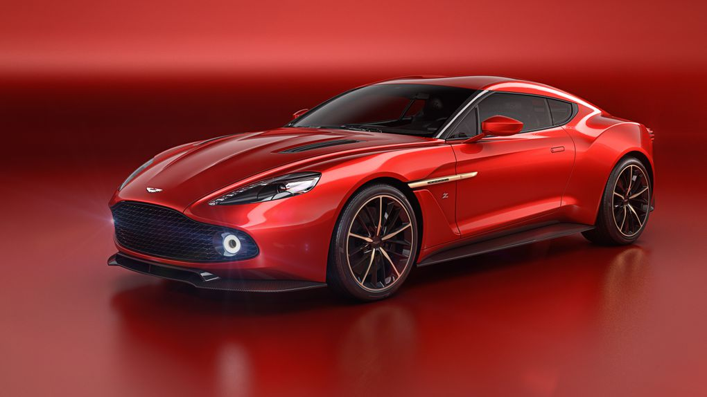 Aston Martins most beautiful car in years is the Vanquish Zagato