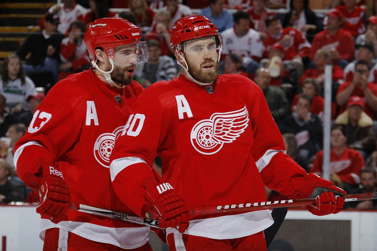 Things are looking up for the Red Wings