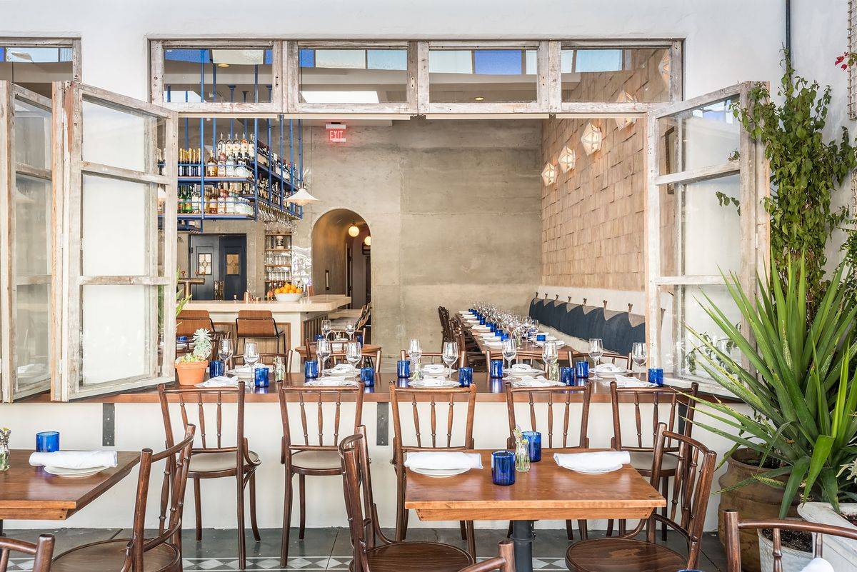 Jaffa Warms Up West Third Street With Decadent Modern ...