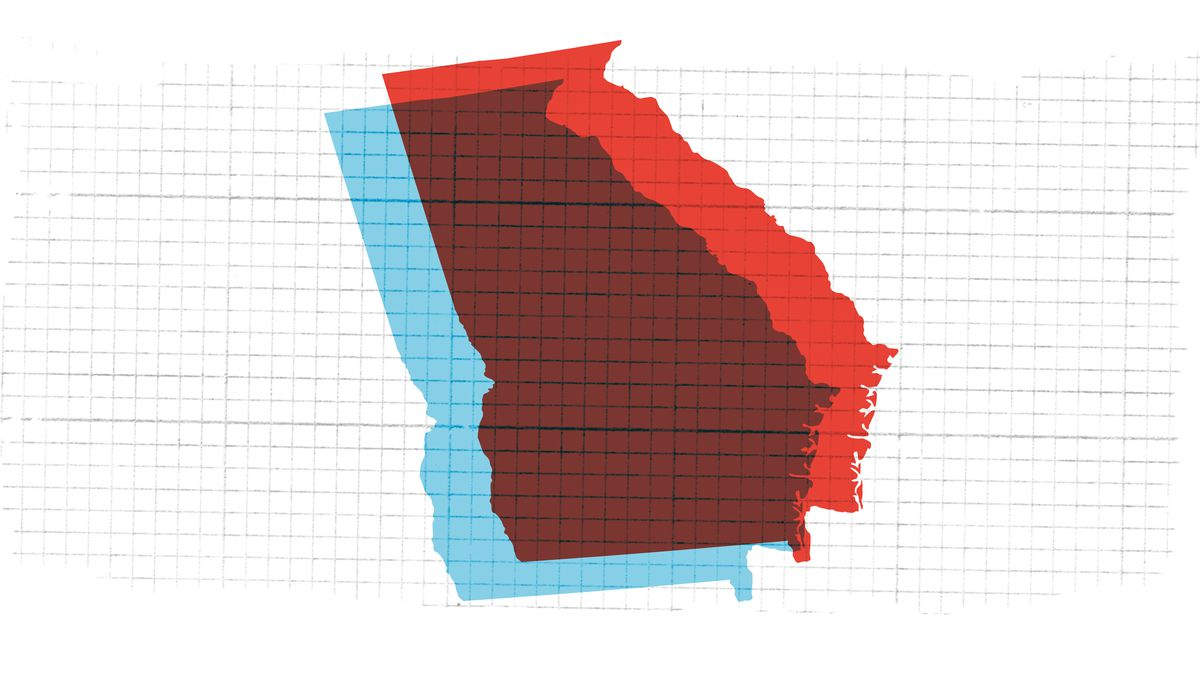 Live results for Georgia's secretary of state election