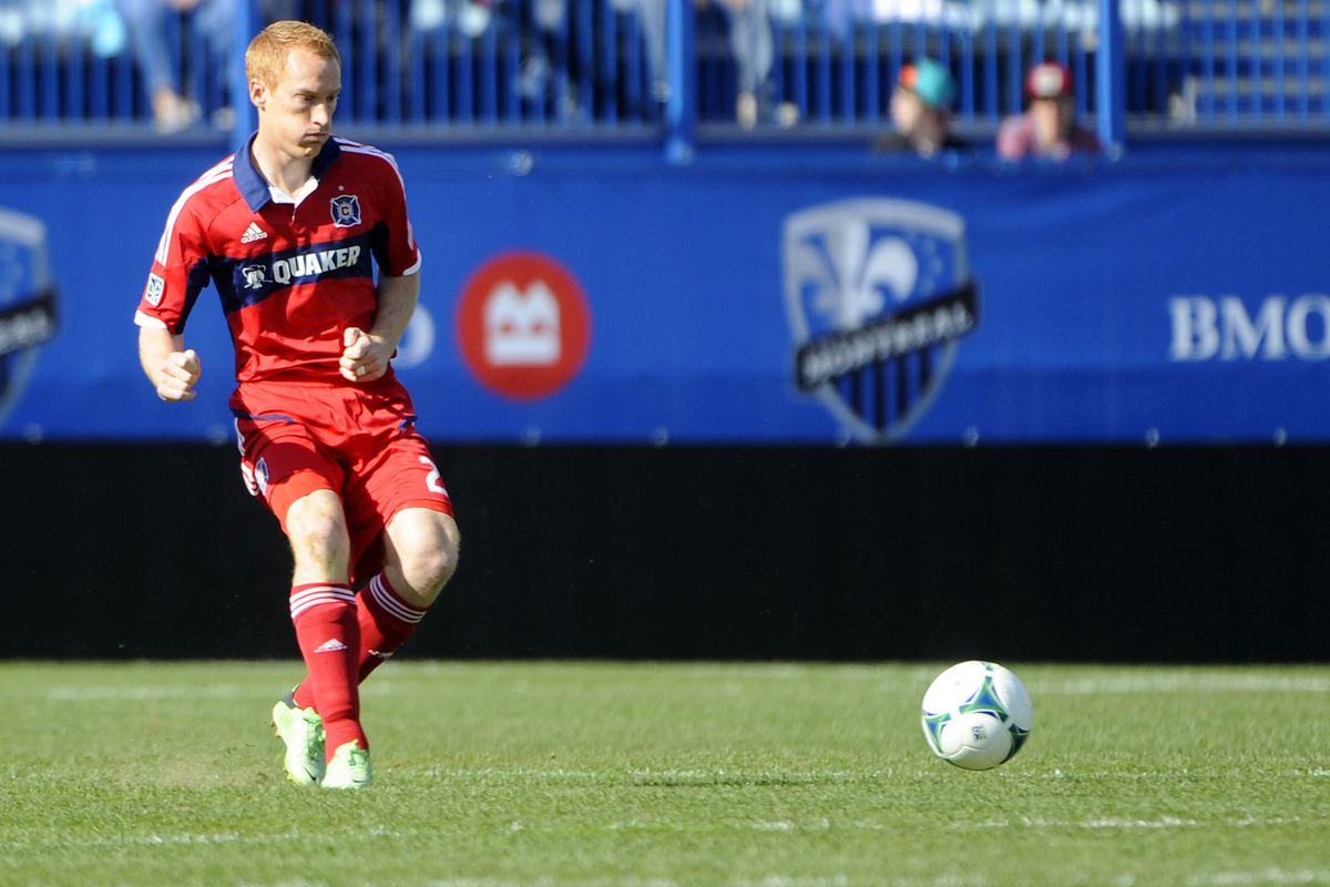 Will we see Big Red in midfield or defense tonight?