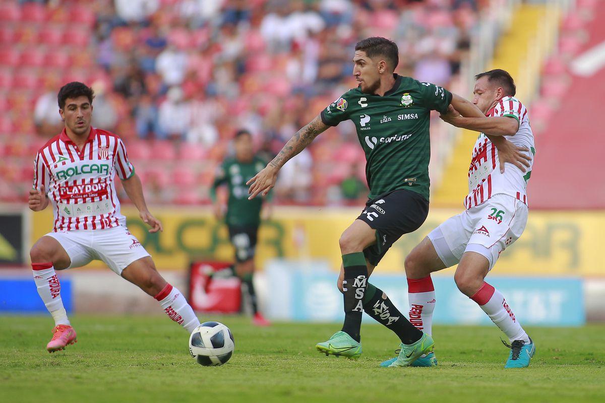 Necaxa v Santos Laguna - Torneo Grita Mexico A21 Liga MX