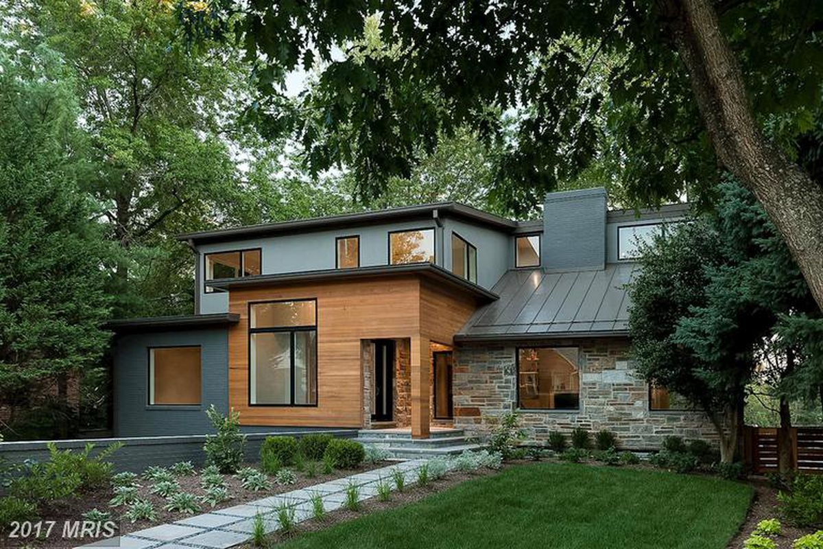 Renovated, Modern Chevy Chase home lands on the market for $2.29M ...