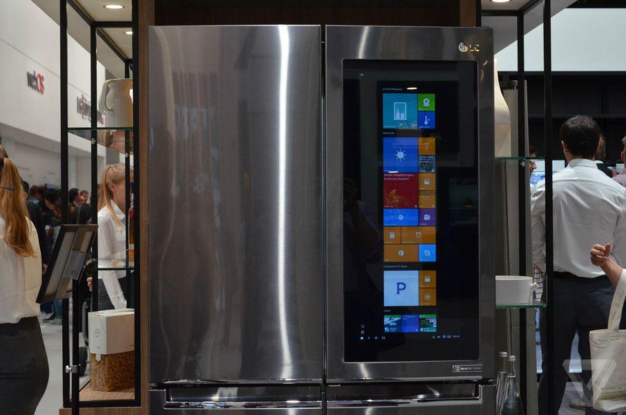 lg refrigerator instaview. lg instaview fridge hands-on photos lg refrigerator
