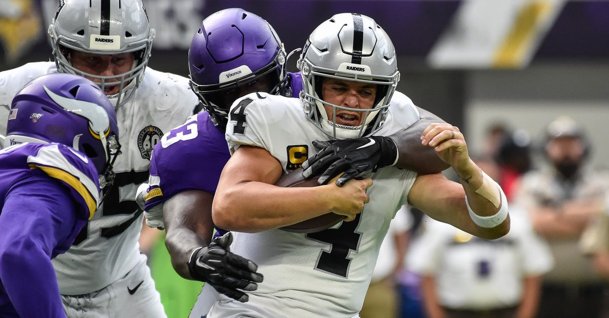 Vikings completely outclass lackluster Raiders