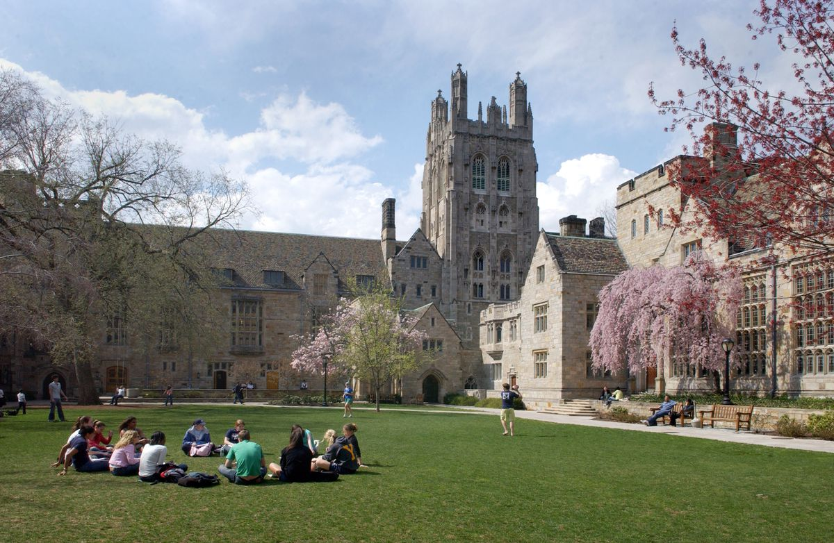 Silliman College Courtyard
