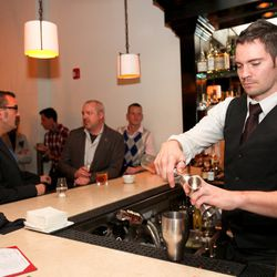 Kevin Burke, bar manager at Colt & Gray, Bartender of the Year nominee