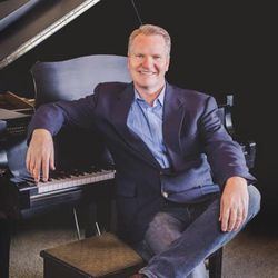 """""""A Sacred Christmas,"""" released in November, features 11 Christmas tunes with original arrangements by LDS pianist and Brigham City native Garth Smith. The record marks the pianist's first holiday album."""