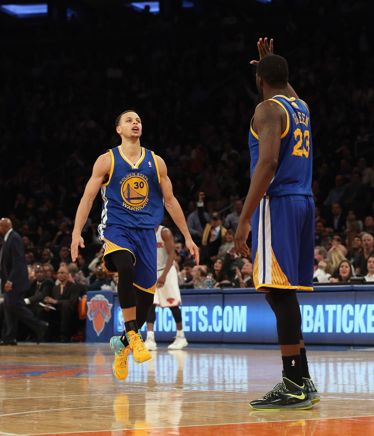 The night Stephen Curry scored 54 points at MSG and changed