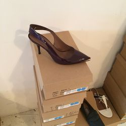 Honor patent leather pumps, $95