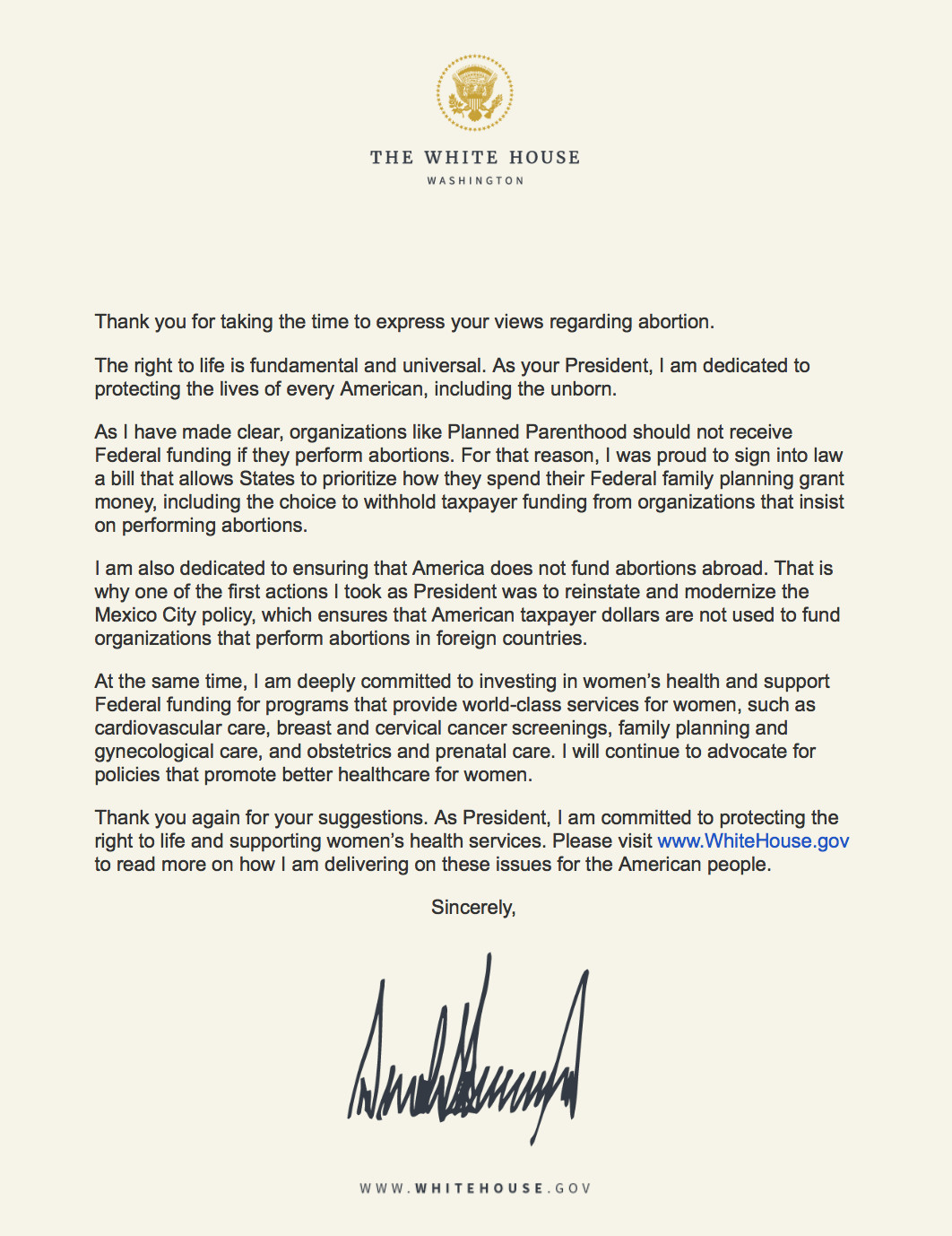 Here S What Happened When One Woman Emailed The White House About