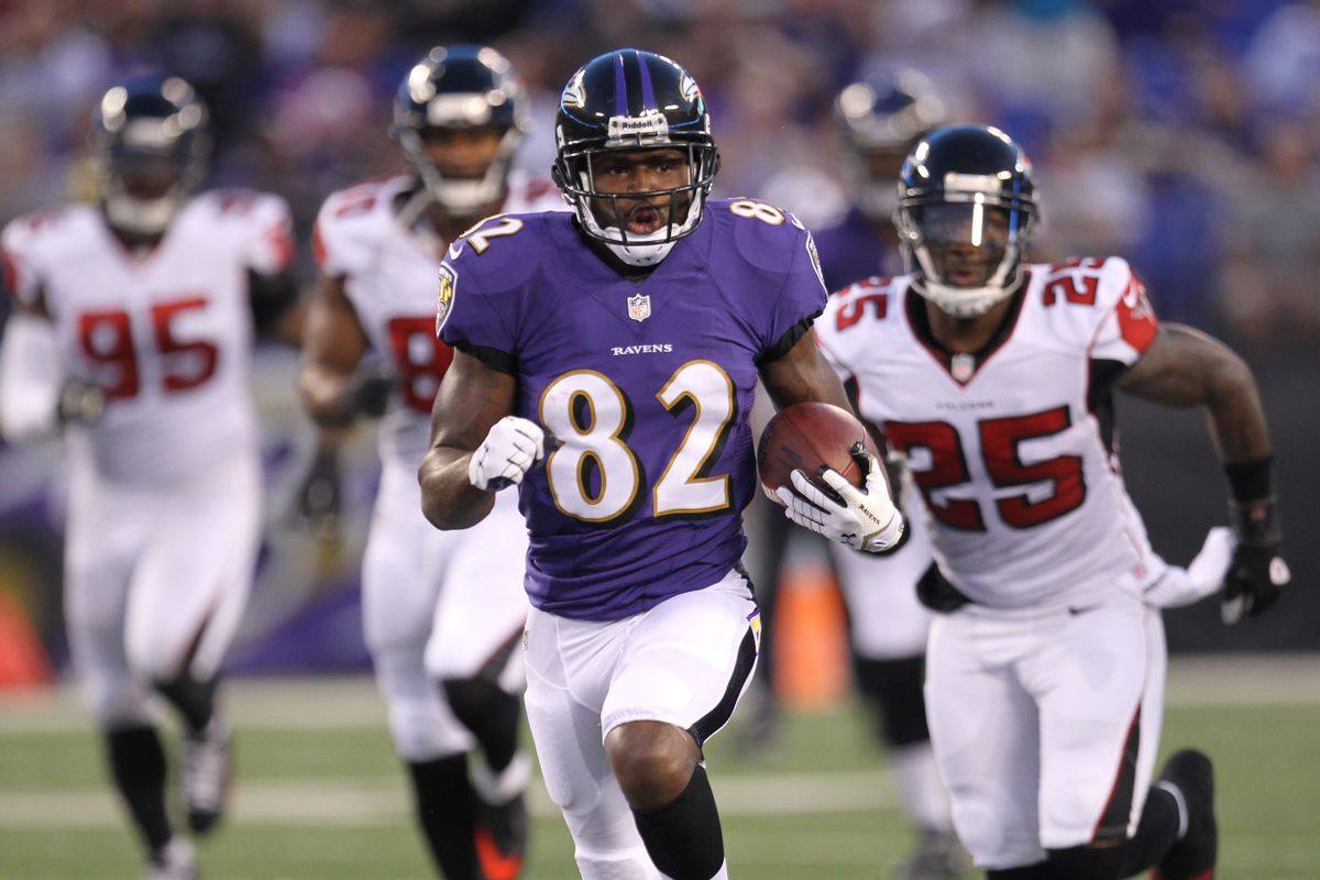 Torrey Smith looked the part of the No. 1 receiver Baltimore hopes he'll be this season.