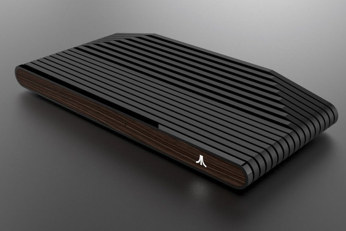 This is what the Ataribox looks like