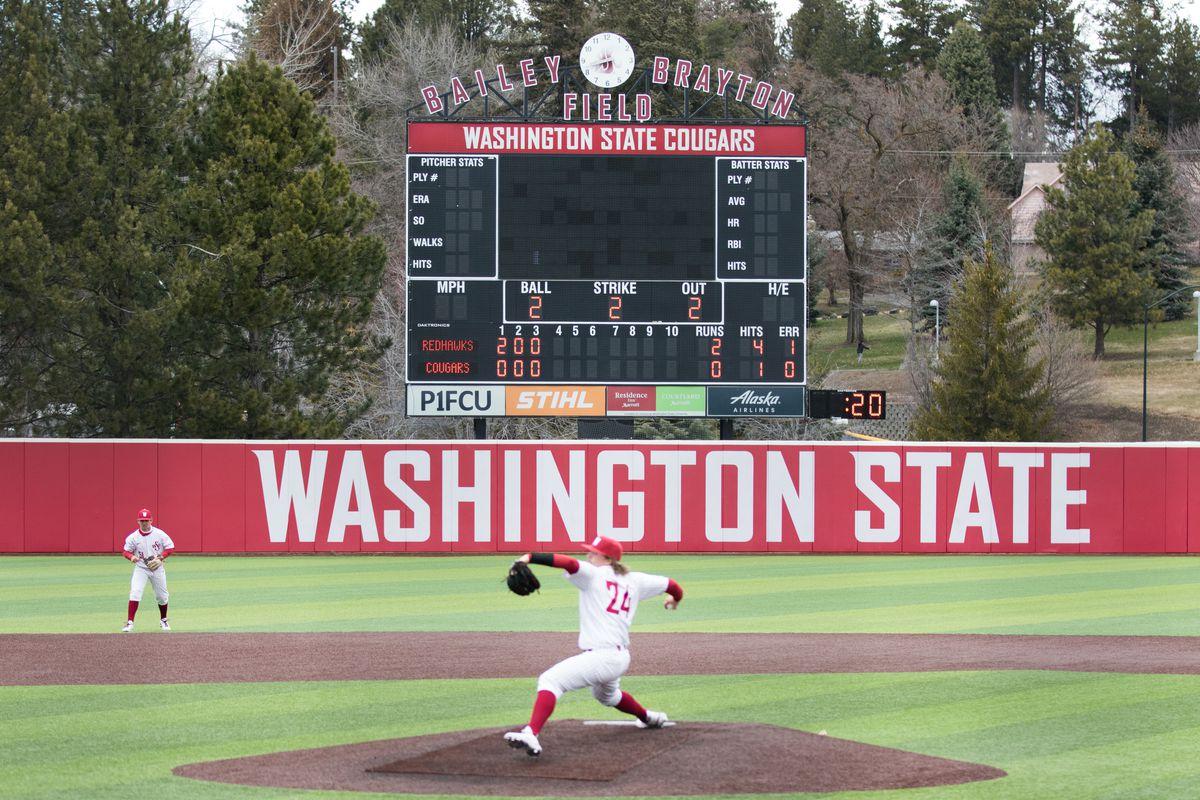 Washington State University baseball versus Seattle U at Bailey Brayton Field in Pullman, WA