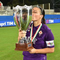 Alia and the Fiorentina Women captured Fiorentina's most recent silverware in October 2018.