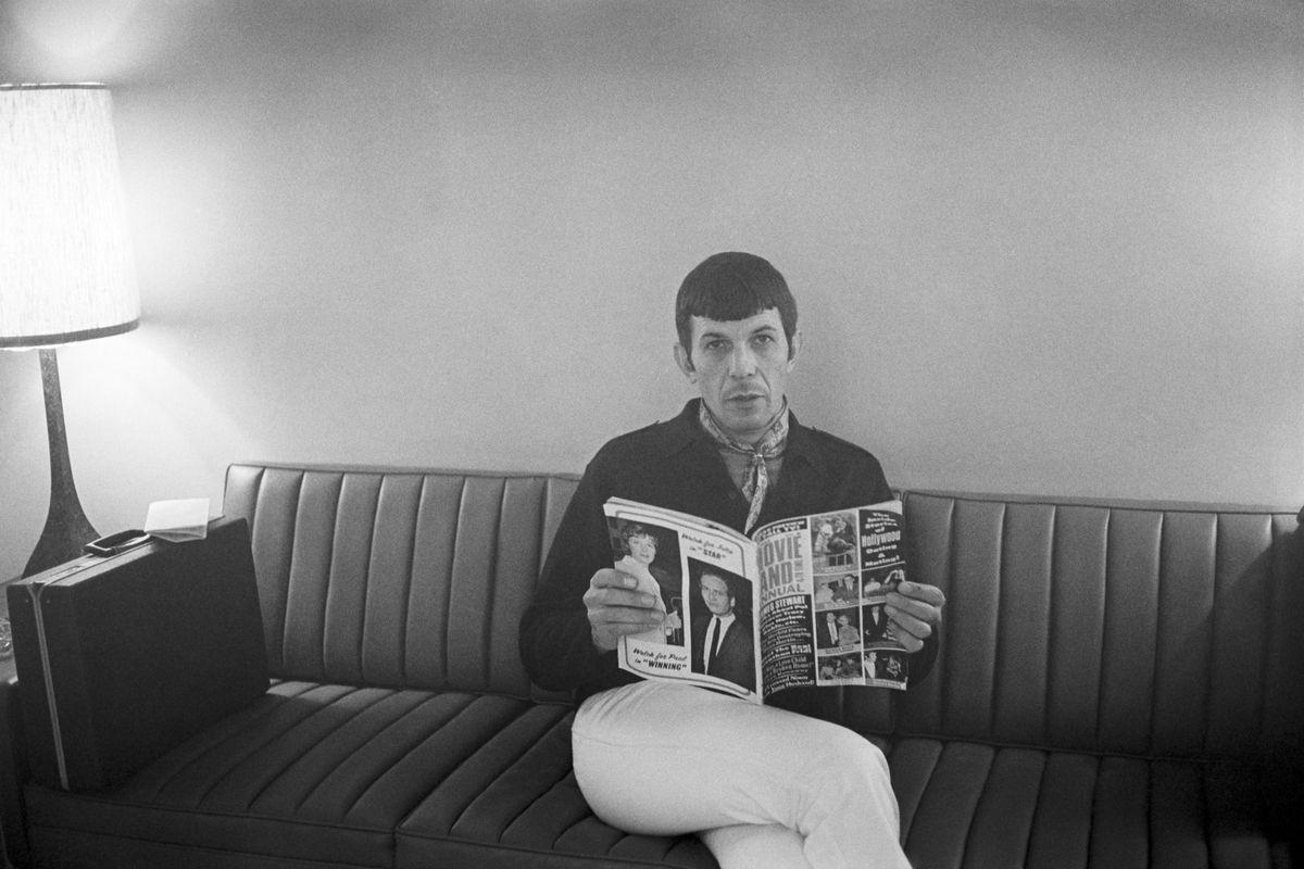 Leonard Nimoy in 1970.