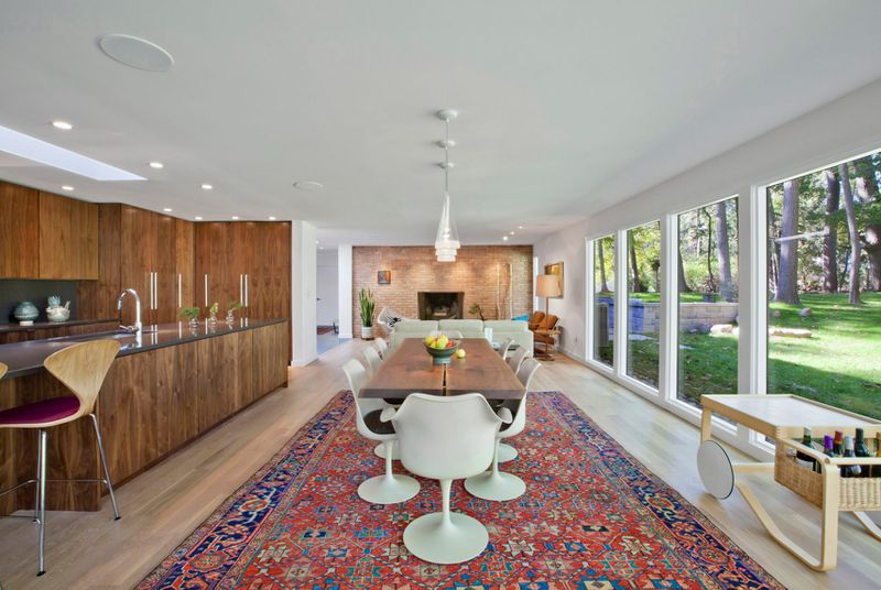 1950s Home Gets Contemporary Overhaul In Indiana