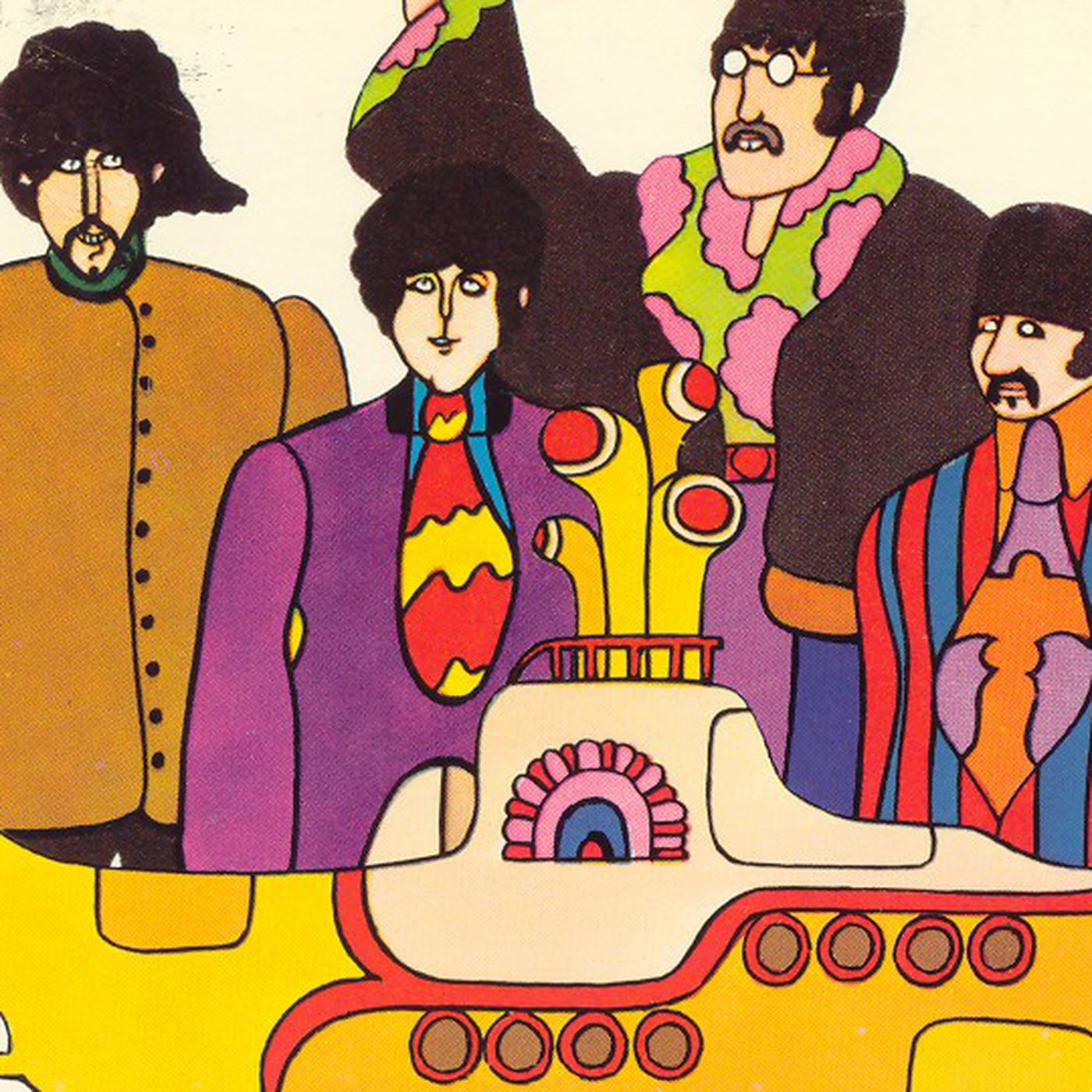 Modern Animation Lives In A Yellow Submarine The Verge