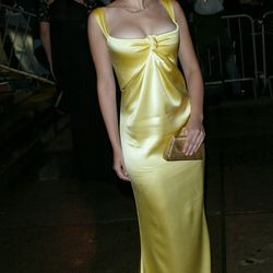 Scarlett Johansson at the Met Gala in 2004.