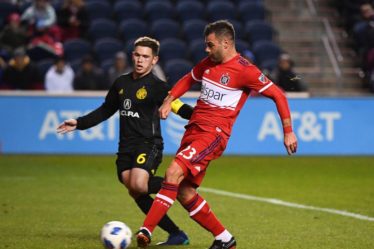 MLS: Columbus Crew at Chicago Fire