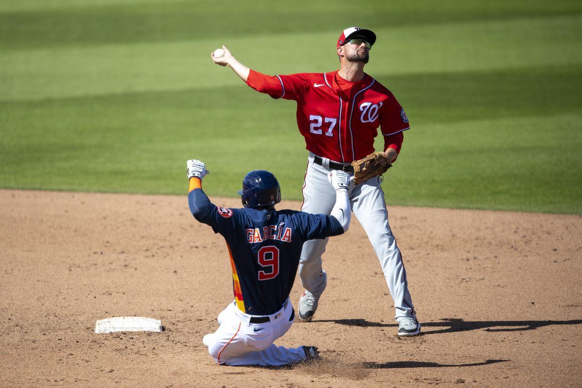 MLB: MAR 14 Spring Training - Nationals at Astros