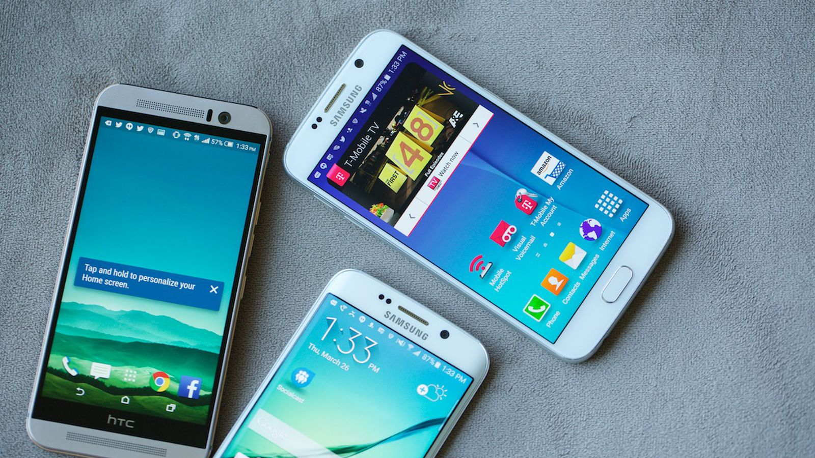 HTC One M9 vs. Samsung Galaxy S6: Which Android Flagship ...