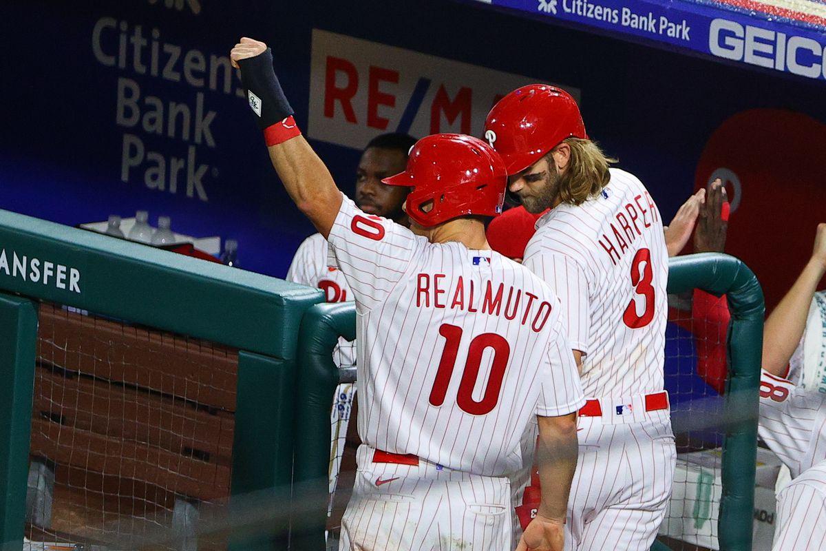 MLB: AUG 31 Nationals at Phillies