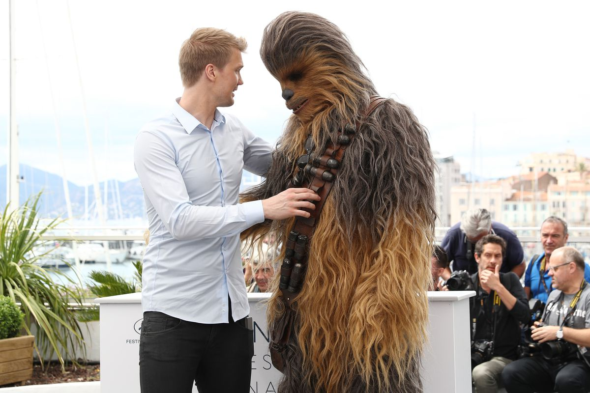 Joonas Suotamo says the best part of playing Chewbacca in
