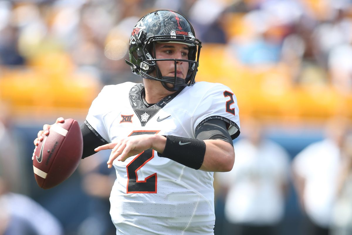 the latest 45db7 c9d01 Mason Rudolph is the Steelers' NFL Draft QB pick: What to ...