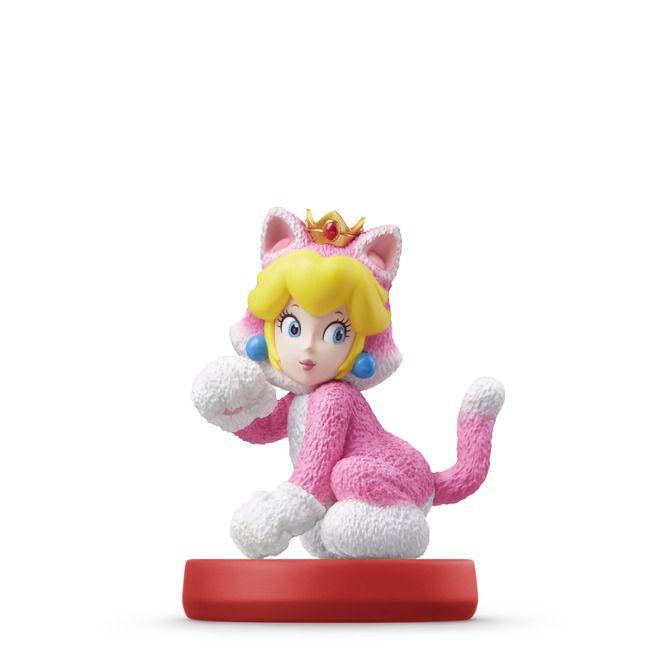 Cat Peach amiibo