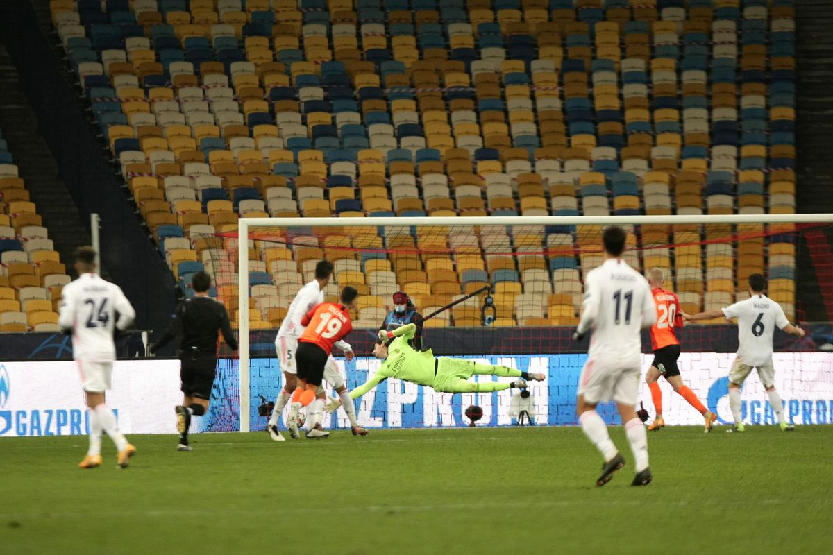 UEFA Champions League match between FC Shakhtar and FC Real