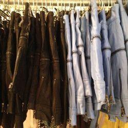 Cut25 Leather Shorts, $95