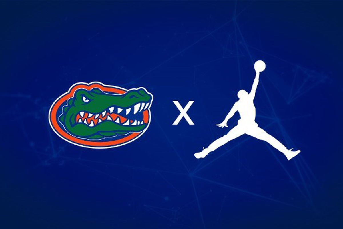 taille 40 b762f c2bf3 Florida announces switch to Jordan Brand for football ...