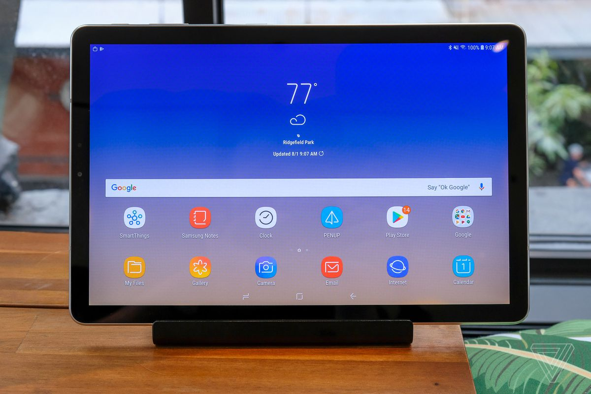 Samsung's new Galaxy Tab S4 tries to beat the iPad at