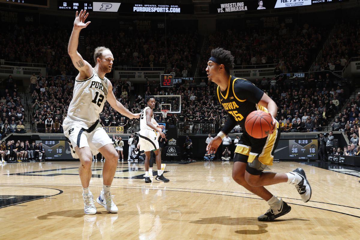 NCAA Basketball: Iowa at Purdue