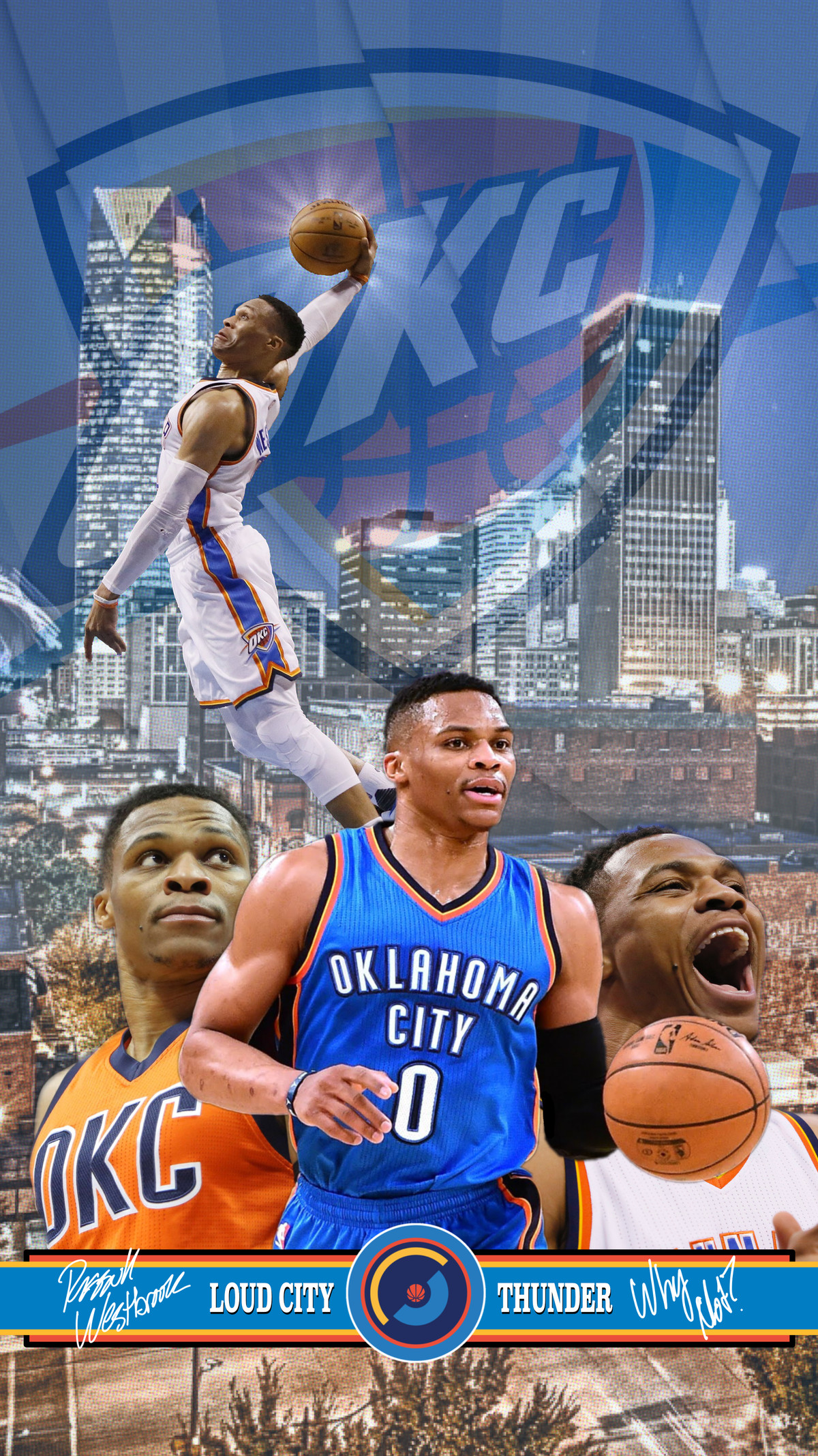Oklahoma City Thunder Wallpaper Of The Month Russell Westbrook