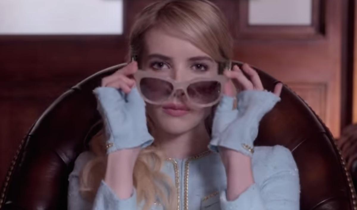 Emma Roberts as Chanel #1. (Screenshot via YouTube)