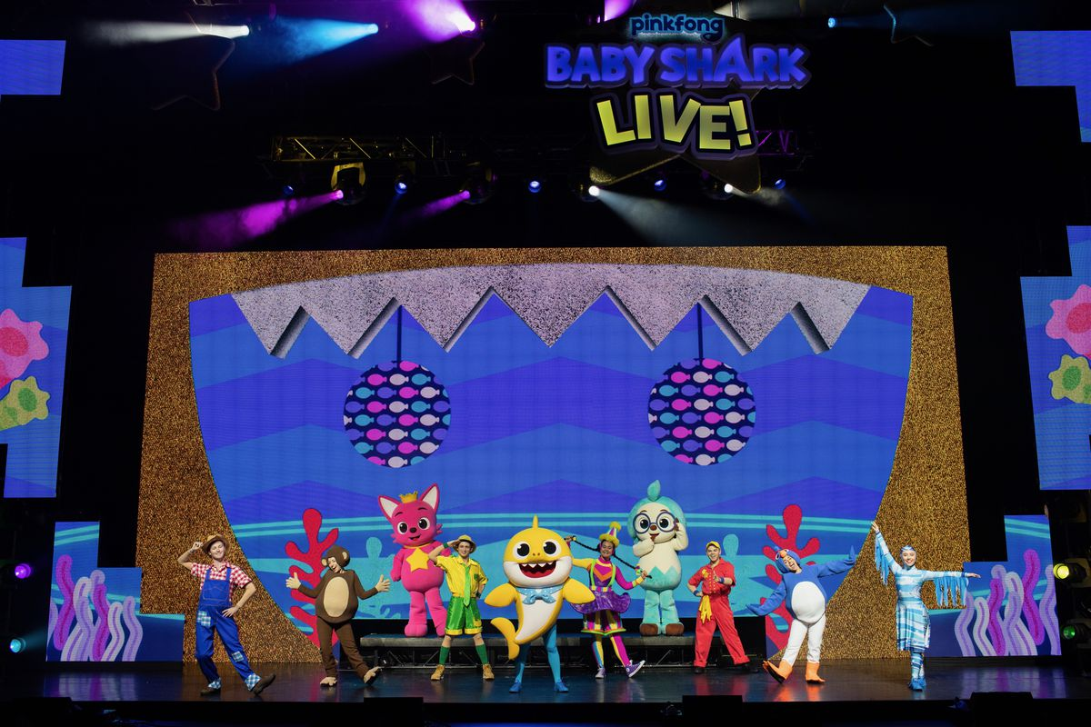 """""""Baby Shark Live!"""" a magical mix of educational programming, live theater and rock concert all wrapped into one catchy 80-minute live show arrives at the  Rosemont Theatre for two shows on Nov. 2."""