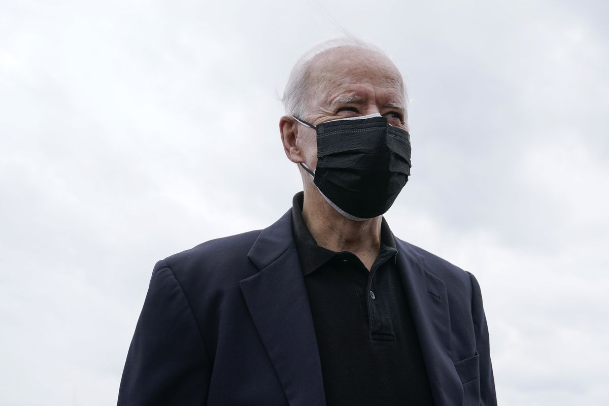 President Biden warned that the 'war against COVID-19 is far from won' and that by relaxing pandemic precautions that the county was 'giving up hard-fought, hard-won gains.'