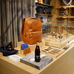 Shoppers can even sip on a Shinola-inspired cola.
