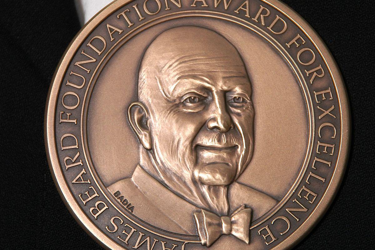 beard awards medal